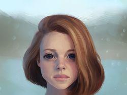 Портрет digital art