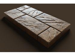 Модель для ЧПУ, набор камней 3