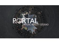 Презентация для проекта VR студии Portal.
