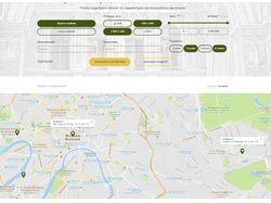 Ajax фильтр по карте Google Maps Без плагинов!