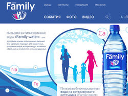 """Минеральная вода """"Family"""""""