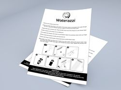инструкция вкладыш Waterzzi