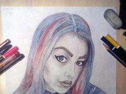 Девушка, портрет