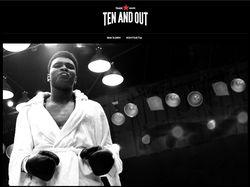 Сайт-каталог брендовых мужских футболок TENANDOUT