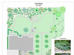 Стильный и лаконичный сад. Пуща-Водица