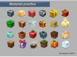 Material practice