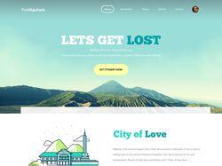 Адаптивная верстка туристического сайта