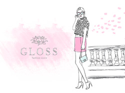 Online clothes store_Gloss.one