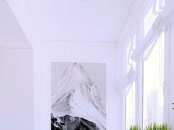 Дизайн двухкомнатной квартиры в скандинавском стил