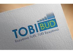 """Логотип для строительной компании """"ТобіБуд"""""""