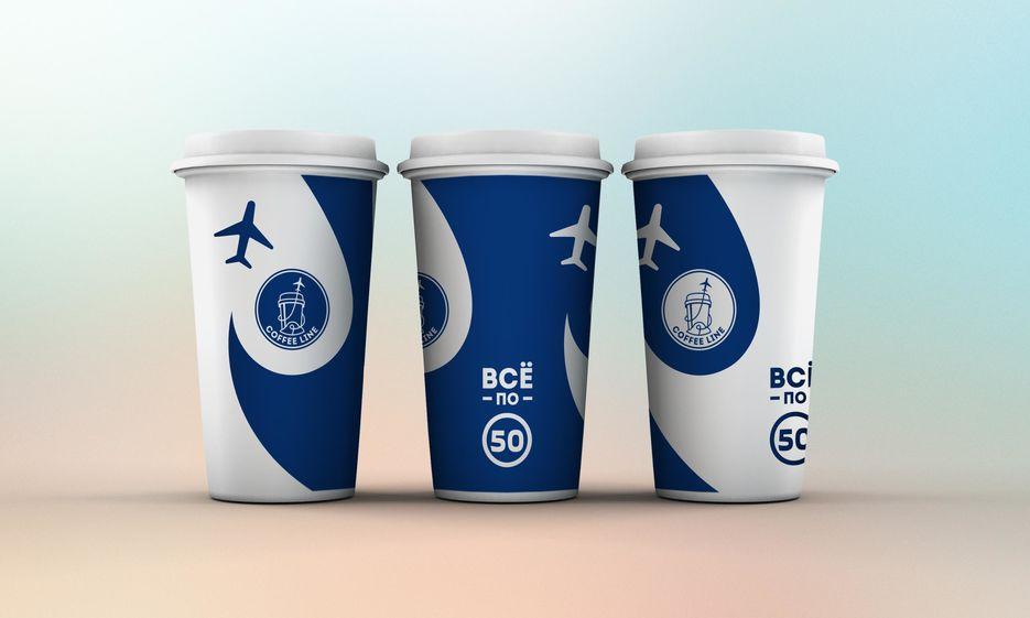 Дизайн стакана для новой кофейни