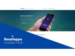 Smallapps Landing Page | PSD to HTML