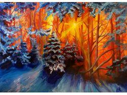 Пейзаж в красках