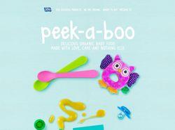 Peek-a-boo - вкусное детское питание