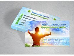 Визитка MedAlternativa.info
