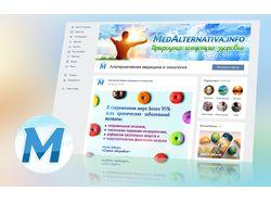 Фирм. стиль группы ВК - MedAlternativa.info