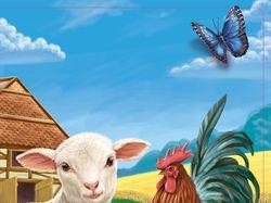 """Обложка для книги """"Ферма"""""""