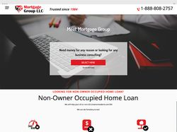 Сайт-визитка для компании «Mortgage Group»