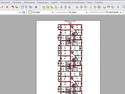 Создам чертеж поэтажного плана здания в 2D