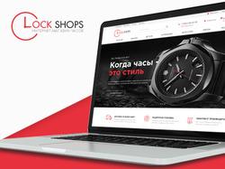Дизайн сайта для интернет-магазина часов