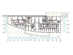 Монтажная схема для монтажа каркаса перегородок