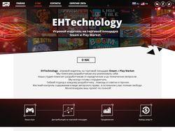 Одностраничный дизайн EHTechnology