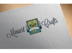 "Концепция логотипа для компании ""Miniart Crafts"""