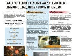 """Плакат А0-А1 для ветеринарной клиники """"Асвет"""""""
