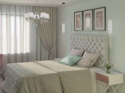 Визуализация спальни 14.4 м2