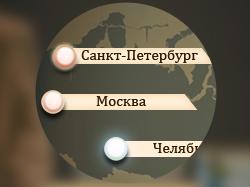 Интерфейс для игрового приложения.
