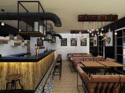 """Design interior pub """"Deer"""""""