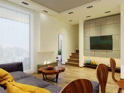 Interior design of the apartment in Lviv