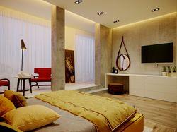 Interior design of the bedroom in Lviv
