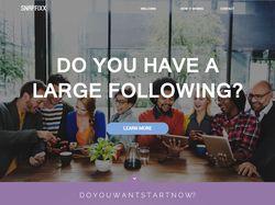 "Landing Page - Start Up сайта ""Snapfixx"""