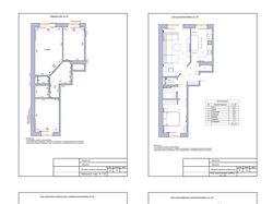 Примеры чертежей дизайн-проекта