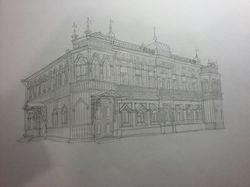 Иллюстрации карандашом