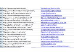 Сбор сайтов определенных тематик