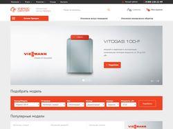Адаптивная вёрстка интернет-магазина Energo