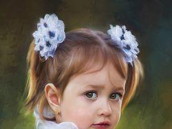 Маленькая школьница (foto painting)
