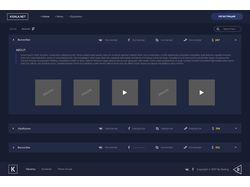 Дизайн сайта Kidala.net