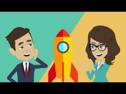 Анимационное видео для Простор Бух. Услуги