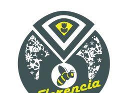 "Логотип Цветочного Магазина ""Florencia"""
