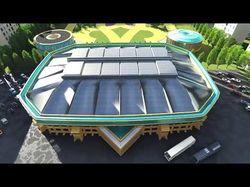 Видео анимация ледового стадиона