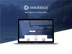 """Landing Page """"Maverick"""""""