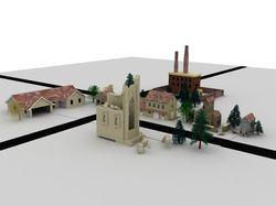 План города для игры