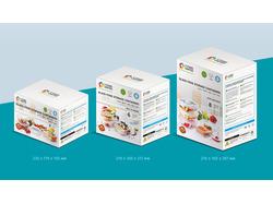 Дизайн упаковки стеклянных контейнеров