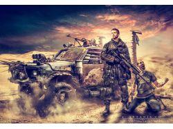 """Постер, иллюстрация """"War+fantasy"""""""
