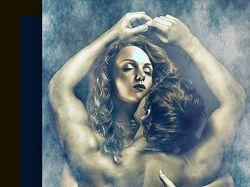 Арт-обработка фото с заменой женского персонажа