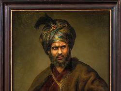 Мужской портрет в восточном стиле - фотомонтаж
