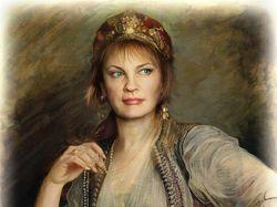 Коллаж - женский портрет
